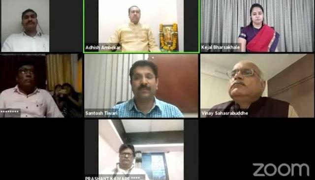 रचनात्मक पत्रकारितेला प्राधान्य द्यावे ... डॉ. विनय सहस्त्रबुद्धे -NNL