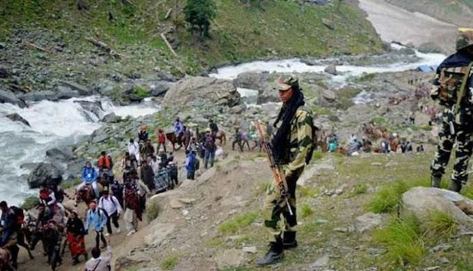 अमरनाथ यात्रा पर हमले का हाई अलर्ट / High alert of attack on Amarnath yatra