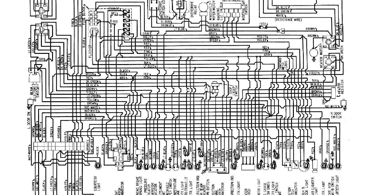 Free Auto Wiring Diagram: 1960 Chevrolet V8 Biscayne