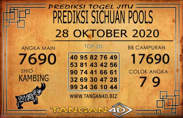 PREDIKSI TOGEL SICHUAN TANGAN4D 28 OKTOBER 2020