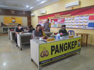 Kapolres Pangkep Ikuti Silaturahmi Kapolda Sulsel dan Tokoh NU