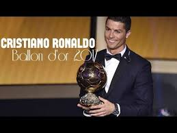 Ronaldo wins 2017 Ballon d'Or