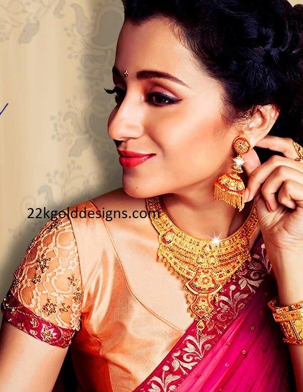 Trisha in NAC Jewellery Ad