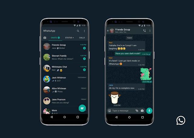 تطبيق WhatsApp يحصل أخيرًا على الوضع الليلي على منصتي الأندرويد و iOS