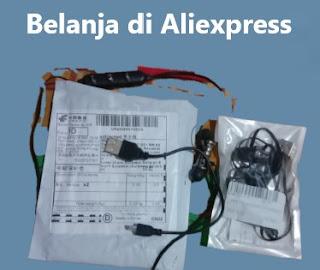 Pengalaman Belanja di Aliexpress Gratis Ongkir