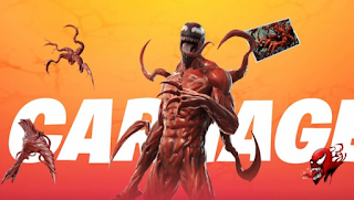 Venom and Carnage fortnite, How to get Venom & Carnage symbiote myths in season 8