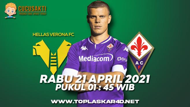 Prediksi Bola Hellas Verona vs Fiorentina Rabu 21 April 2021