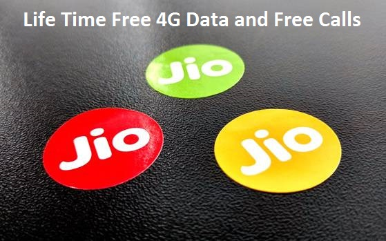 Reliance Jio Free Lifetime 4G Data Calls Activation 2017 Welcome Offer