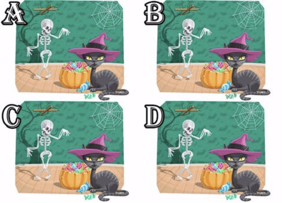 Halloween: Spot the Difference! Quiz Answers   Quiz Help