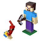 Minecraft Steve With Parrot BigFig Set