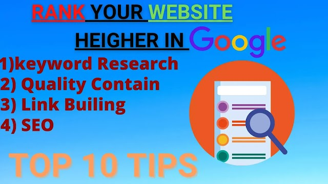10 Easy Method To Rank Your Website Higher In Search Engine in 2021