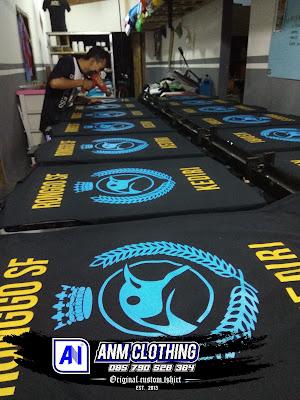 Pesan Kaos Seragam Komunitas di Kediri