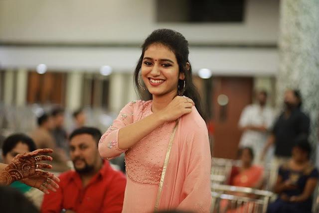 Priya Prakash Cute Looking Pics Actress Trend