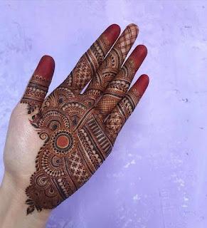 dulha dulhan mehndi designs hands
