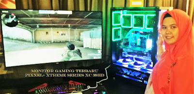 monitor gaming pixxel+