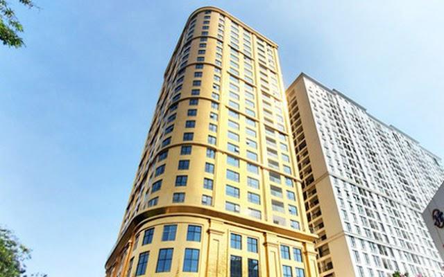 """Ngắm tòa nhà dát vàng 24K """"từ chân đến nóc"""" khủng nhất Hà Nội đang hoàn thiện"""