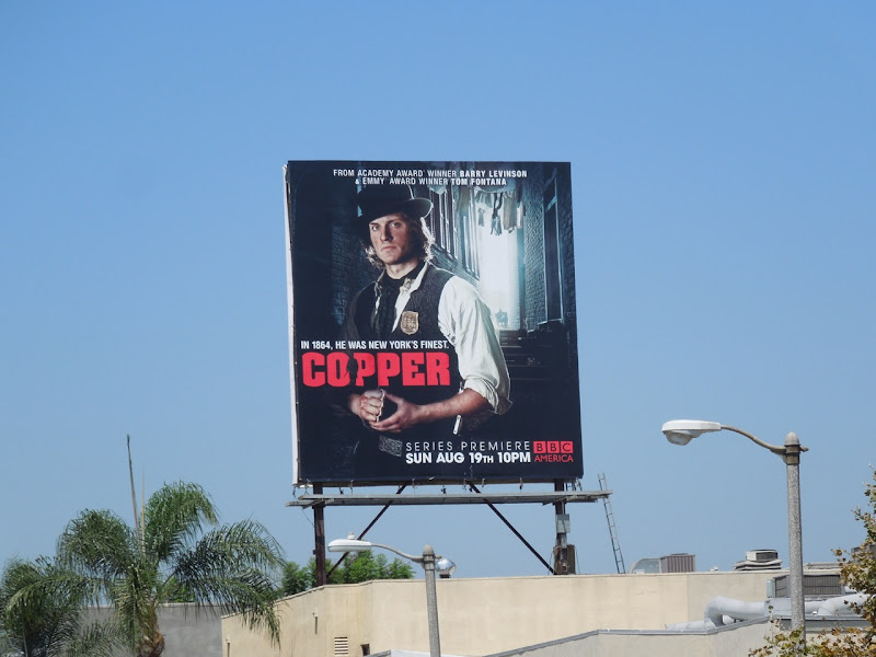Copper TV billboard