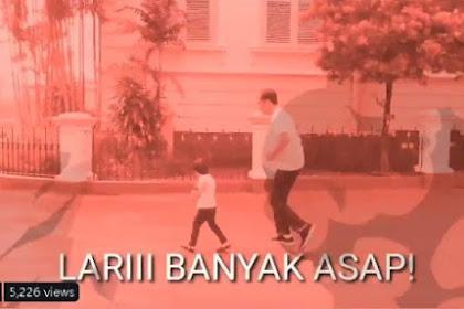 Sindir Karhutla Jambi, Video Jokowi dan Jan Ethes Diedit Jadi Merah