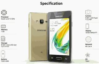 Spesifikasi Dan Harga Samsung Z2 2017
