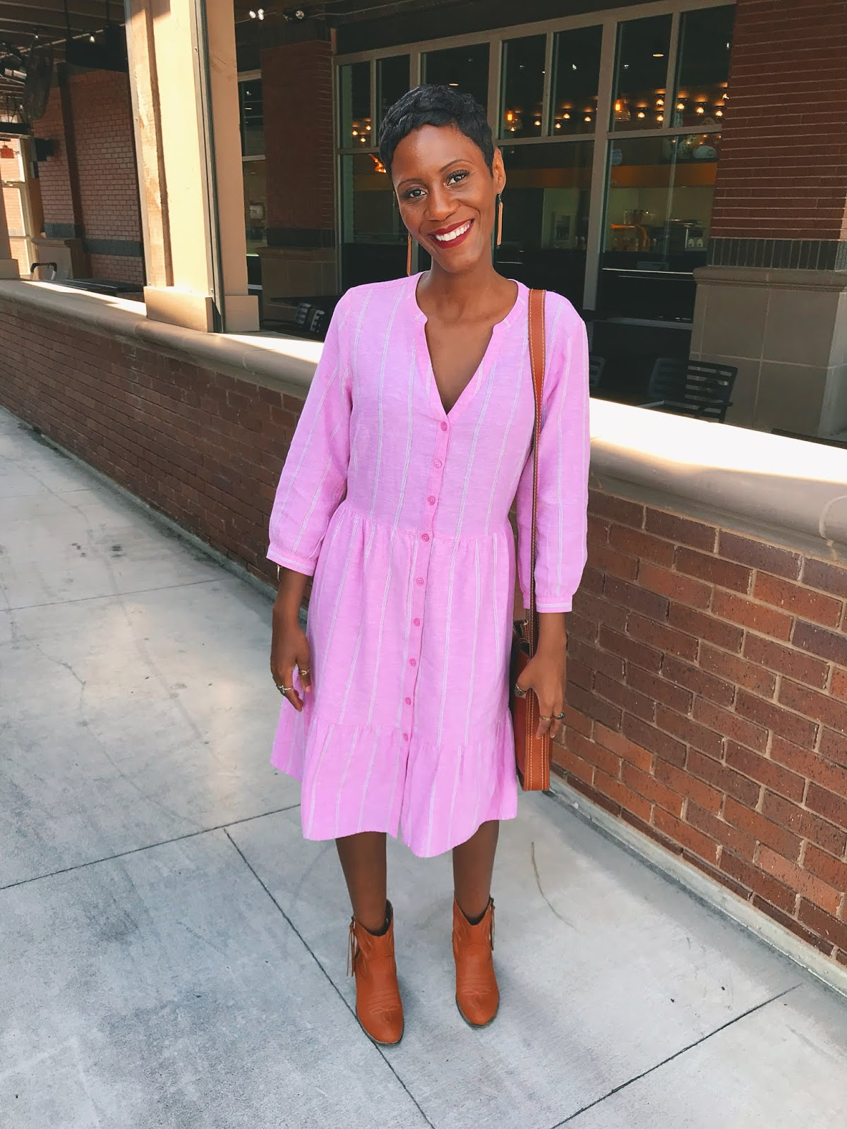 Worry Less And Rock The Pink Dress!