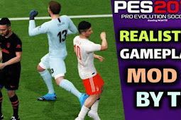 Relistic Gameplay Mod For - PES 2017