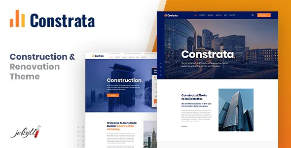 Best Construction and Renovation Jekyll Template