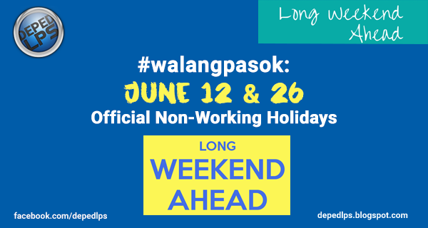 Walangpasok June  National Public Holiday For All In The Philippines
