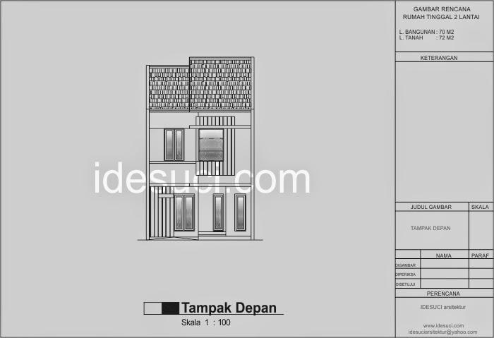 Image Result For Denah Rumah Minimalis Kamar Melebar