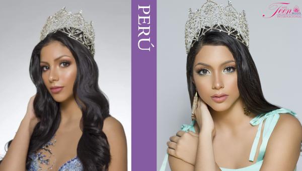 Viviana Jiménez es Miss Teen Model Perú 2021
