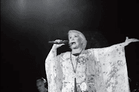 Η Μαρινέλλα στο «Danforth Music Hall», στις 13 Ιουνίου 2015.