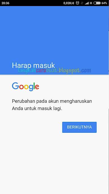 Cara Memulihkan Akun Google Di HP Android