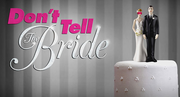 Don't Tell The Bride 14k Giveaway for a lucky couple! #OpportunityShare #Weddings