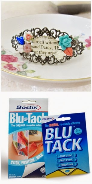 image mr darcy bangle cuff blu tack
