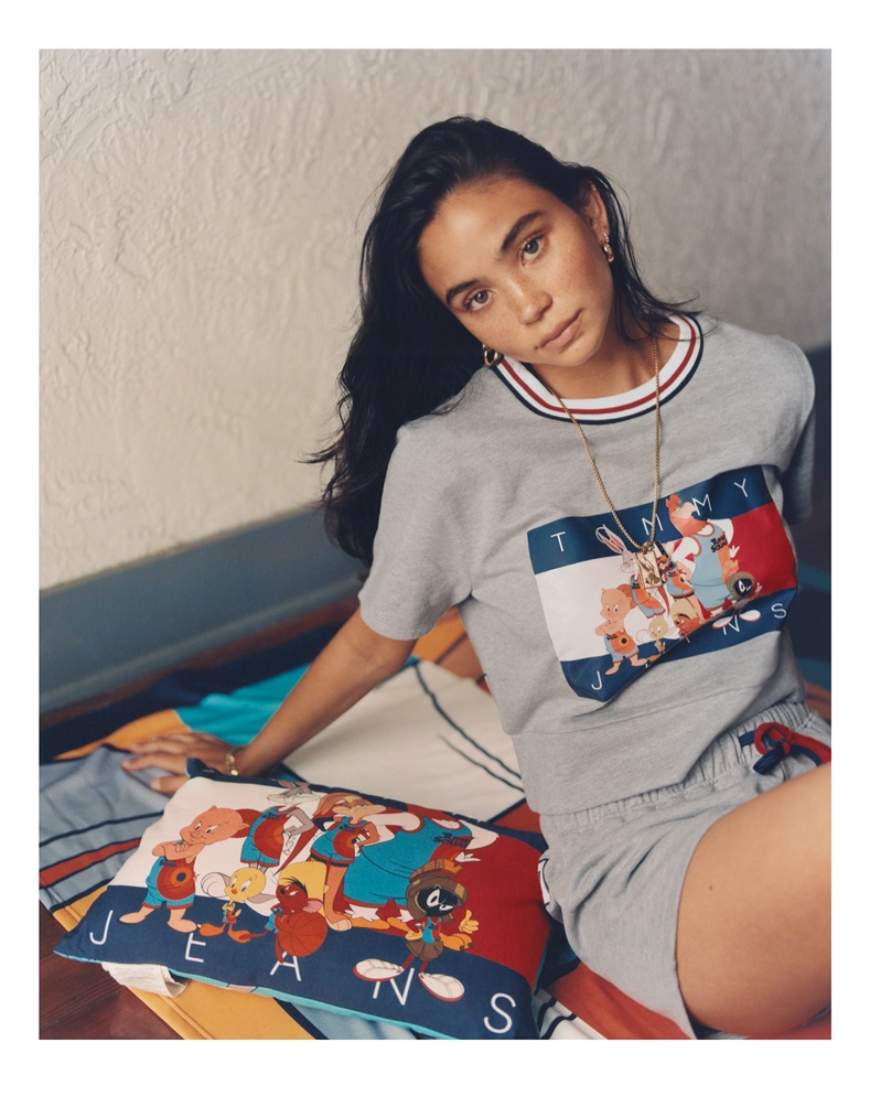 Space Jam: A New Legacy x Tommy Jeans 2021 Campaign
