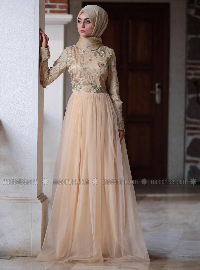 Robe de soiree mohajabat 2018
