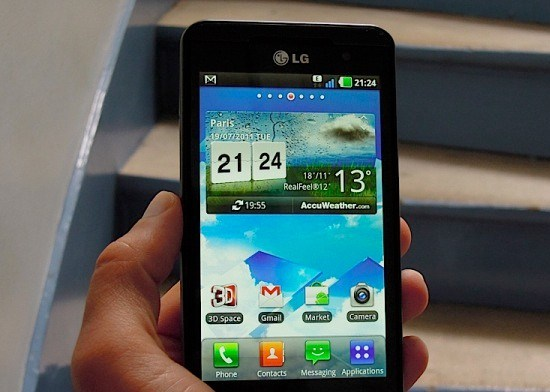 Android 2.3 firmware for LG Optimus 3D
