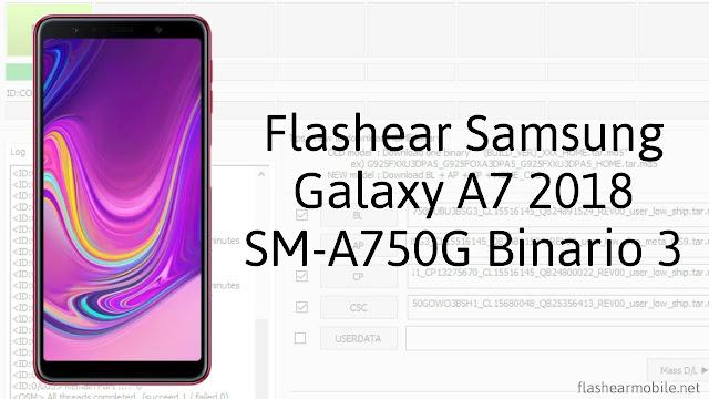 Flashear Samsung Galaxy A7 SM-A750G