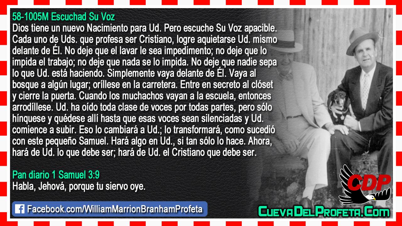 Hará de Ud. el Cristiano que debe ser - William Branham en Español