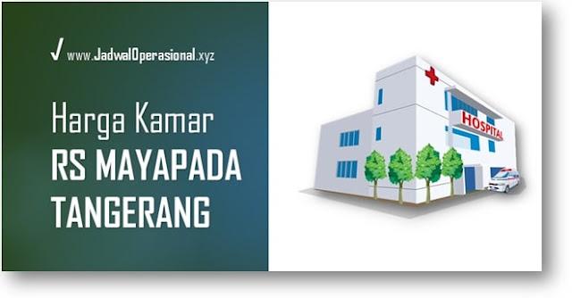 Harga Tarif Kamar RS Mayapada Tangerang