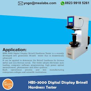 Alat Uji Kekerasan Brinell HBS-3000