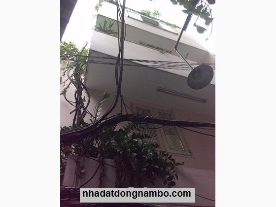 Bán nhà hẻm 3,5m Huỳnh Mẫn Đạt phường 5 Quận 5