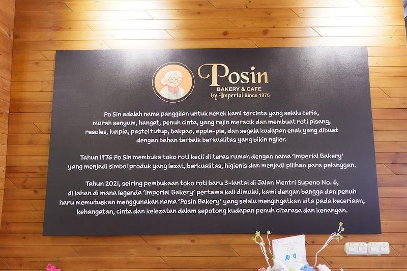 POSIN by Imperial : CAFE & BAKERY Yang Nyaman dan Estetik