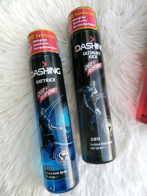 Dashing Deo dan Perfume Body Spray