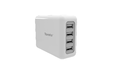 Toreto Unicharge 4 USB Port Universal Travel Charger launched for Rs 999