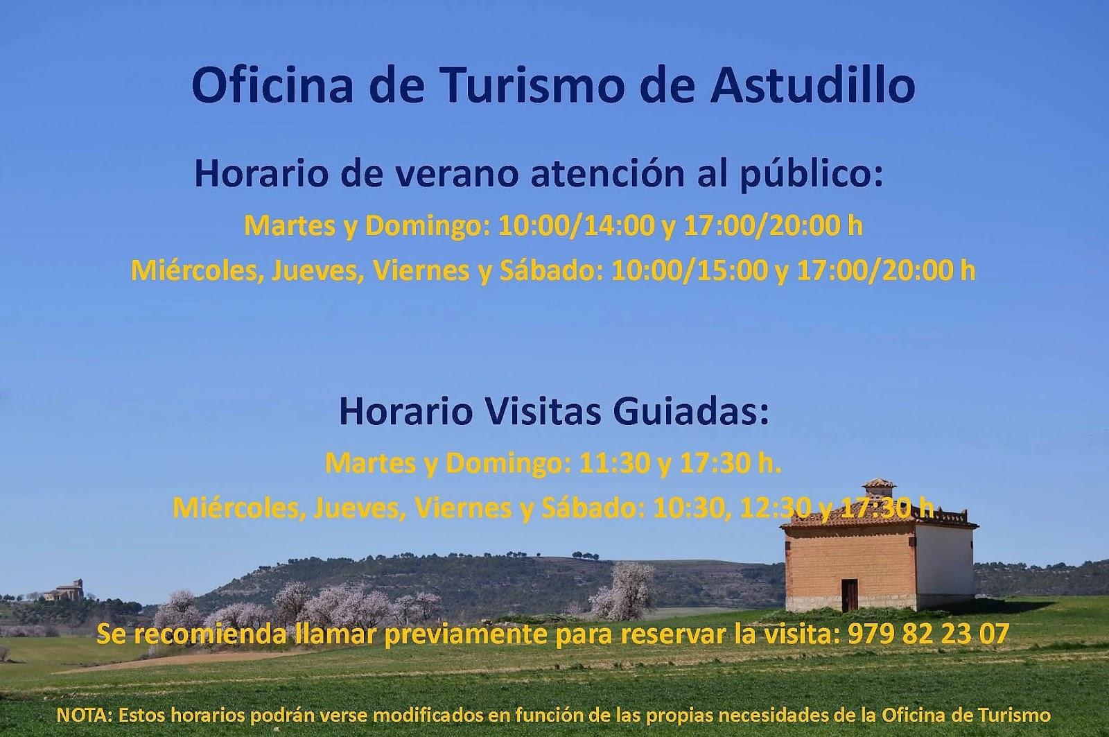 Turismo astudillo horario oficina de turismo verano 2017 for Oficina de turismo de palencia