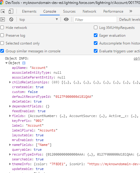 How to use getObjectInfo in Lightning Web Component?