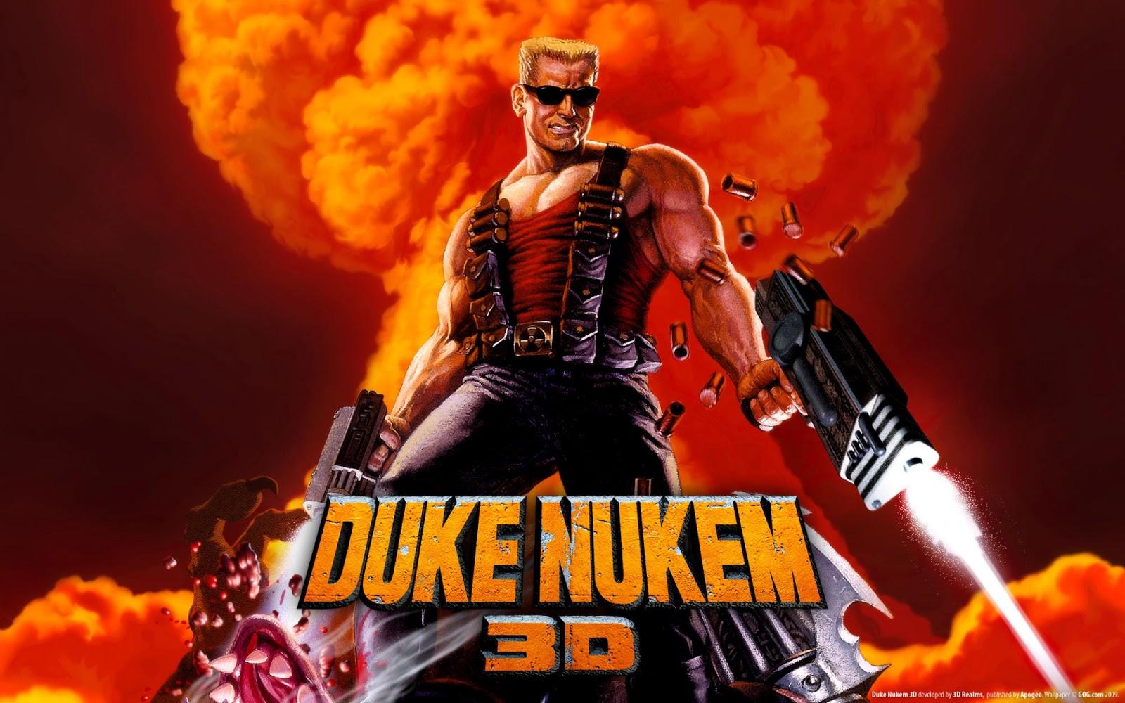 تحميل لعبة الأكشن القديمة Duke Nukem 3D