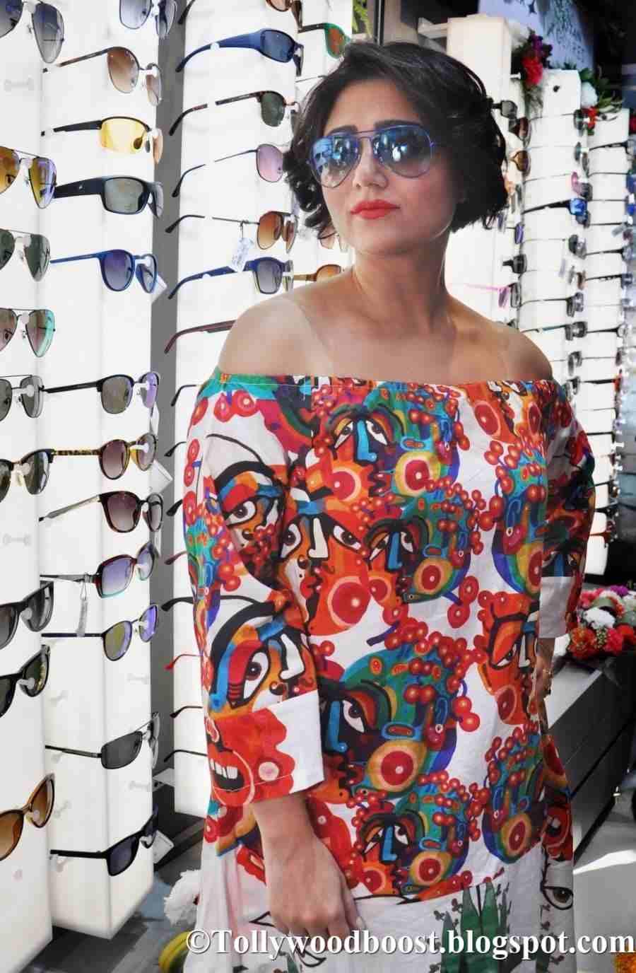 Bengali Actress Swastika Mukherjee Stills In Red Dress