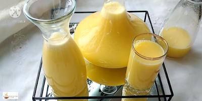 عصير البرتقال والليمون جد منعش صحي