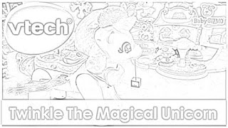 Twinkle the Magical Unicorn coloring pages coloring.filminspector.com